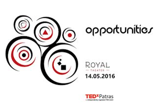 "TEDxPatras 2016 – ""OPPORTUNITIES – ΕΥΚΑΙΡΙΕΣ"""