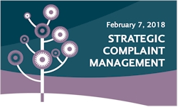 Strategic Complaint Management - February 7, 2018