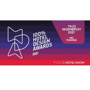 8th 100% Hotel Design Awards 2021